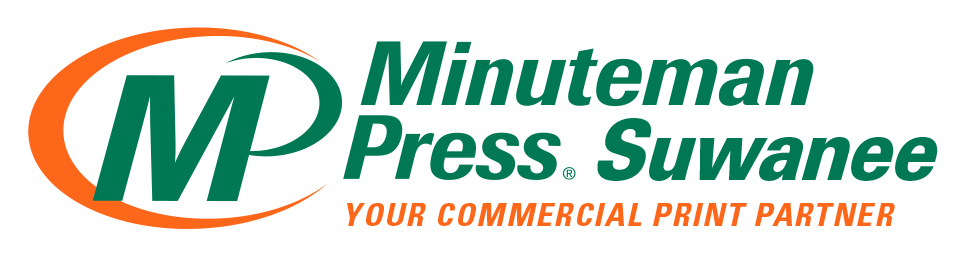 Minuteman Press of Suwanee Color Logo